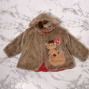 Gund Baby Whimsey Wishes Infant Coat Reindeer